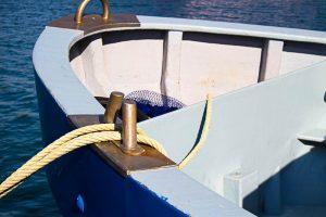 proyectos barco con cuerdas y redes para pesca